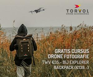 Torvol Drone Explorer Backpack + gratis masterclass